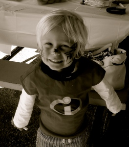 My lil' Mr Incredible...